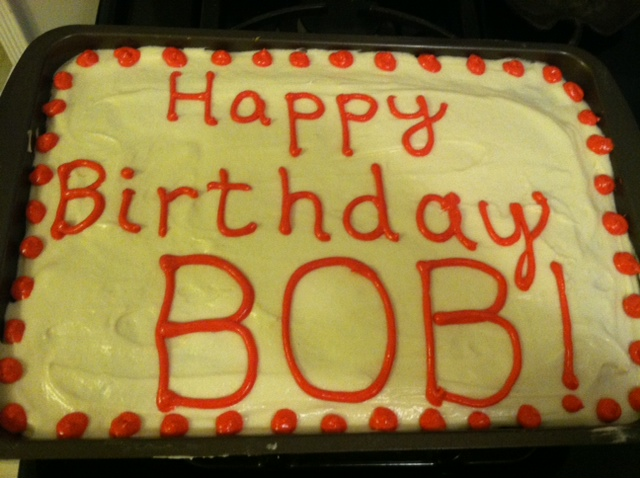 Happy Birthday Page  Stafford Forum - Happy birthday bob cake