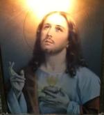 Jesus close with no rosary