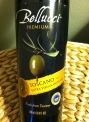 Belucci Olive Oil - ready for its close-up.