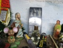 St. Joe, an unnamed shepherd, a large mouse and tiny saint statues along with cologne?