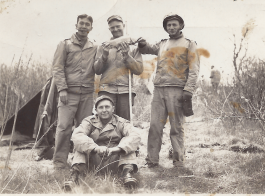 Dad with Army Buddies