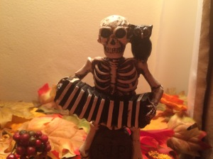 Who doesn't love an accordion-playing skeleton? I have two of these, one is named Bernie and one Bob for my brothers.
