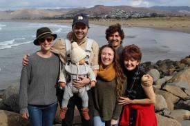 The family in Morro Bay