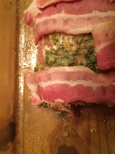 pork with bacon window