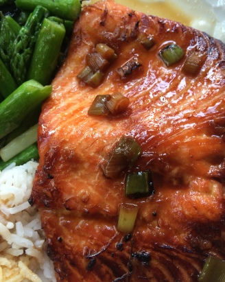 Marinated cooked Steelhead Trout